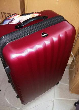 Чемодан gravitt дорожная сумка валіза на колесах большой средний малый