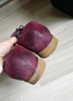 Мужские кожаные оксфорды броги туфли 433 фото
