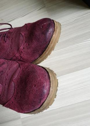Мужские кожаные оксфорды броги туфли 435 фото