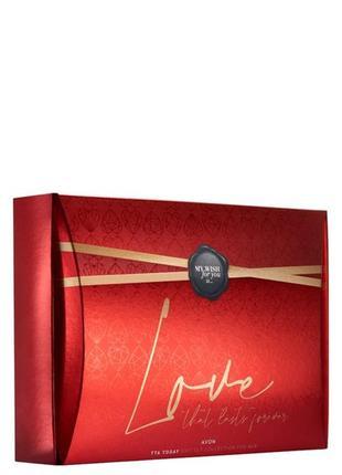 Подарочный парфумно-косметичний набір «today для неї»