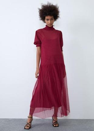 Новогодние скидки:)🎅оригинальное платье zara