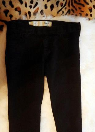 Черные скинни джеггинсы высокая талия и эффектом пуш-ап джинсы узкачи