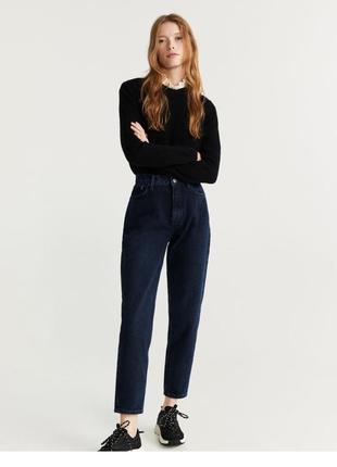 Классные новые джинсы mango mom-fit