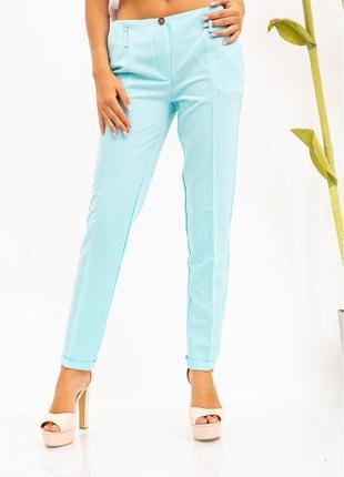 Стильные женские брюки мятного цвета