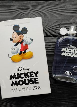 Zara mickey mouse аром для детей духи парфюмерия туалетная вода испания