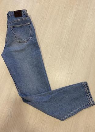 Джинсы высокая посадка , мам джинс для высоких
