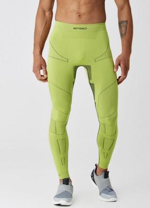 Термобелье штаны мужские spaio ultimate w01  лайм