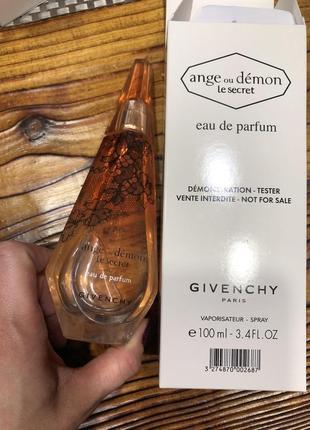 Givenchy ange ou demon le secret, тестер, 100 мл