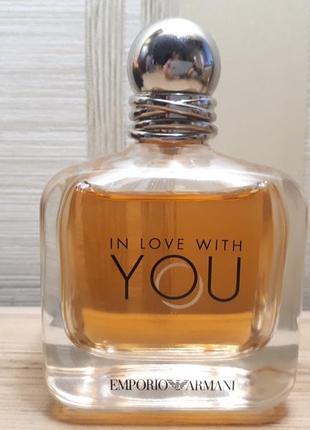 Emporio armani in love with you парфюмированная вода 100мл оригинал