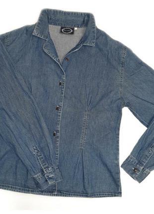 Club monaco джинсовая рубашка р.l