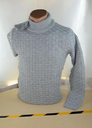 Мужской свитер гольф по фигуре турция