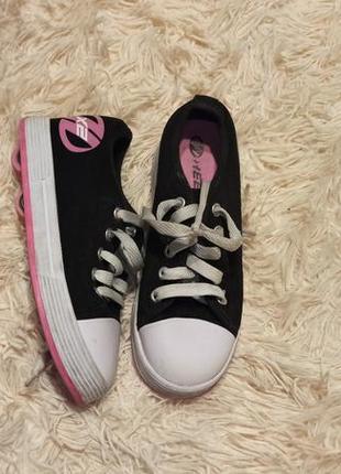 Кеды кроссовки на роликах