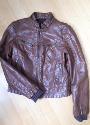Курточка цвета молочный шоколад