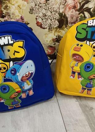 Стильний рюкзак brawl stars