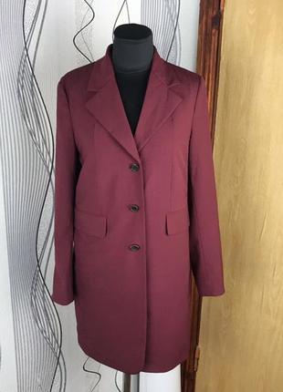Шерстяной пиджак блейзер prada