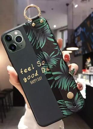 Чехол-держатель для телефона 11 iphone с ремешком