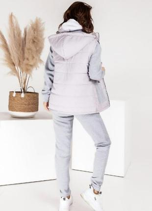 Спортивный костюм штаны кофта брюки женский2 фото