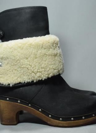 Угги ugg australia lynnea сапоги ботинки женские зимние овчина цигейка оригинал 39р/25см
