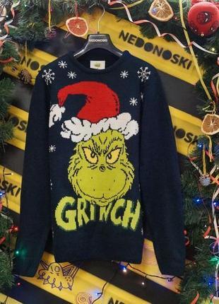 Свитер персонаж мультикa гринч - похититель рождества how the grinch stole christmas