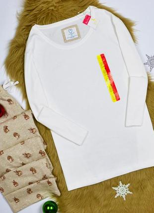 Нежная хлопковая пижамка с зайками love to lounge (primark)!
