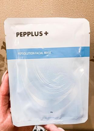 Тканевая маска для лица с пептидами и коллагеном