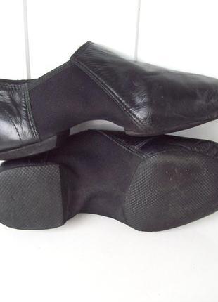 Танцевальные балетки джазовки кожа, стелька 24,5 см.