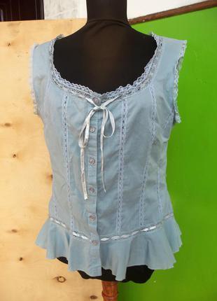 Блуза из тончайшего хлопка