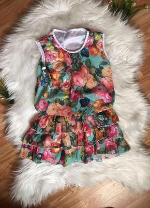 Платье летне