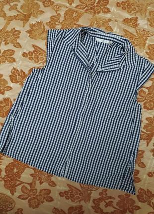 Классическая рубашка zara trafaluc, cост. отличное. размер s. сток!