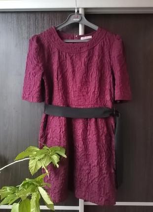 Шикарное, нарядное платье с фактурной тканью (хлопок, вискоза) darling