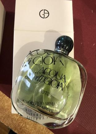 Giorgio armani acqua di gioia парфюмированная вода (тестер с крышечкой) 100 ml