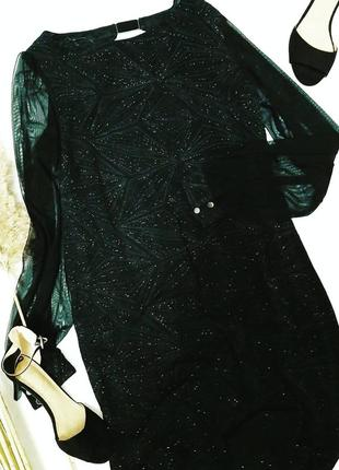 Платье в стразы