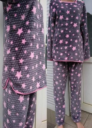 Женская махровая пижама.