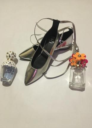Стильные нарядные туфли 🥿 балетки