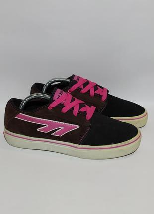 Hi-tec оригинал замшевые кеды кроссовк кросівки размер 39