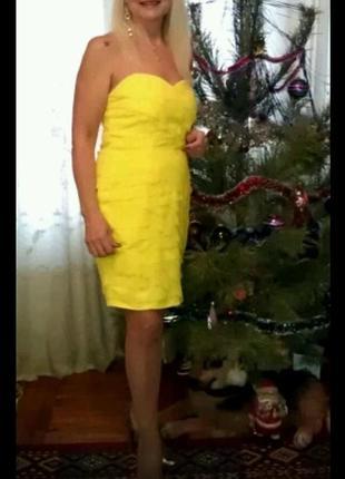 Платье-корсет на подкладке