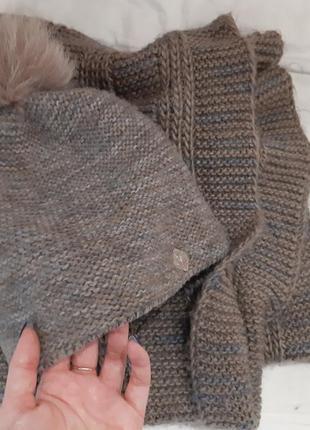 Шапка и шарф(комплект)