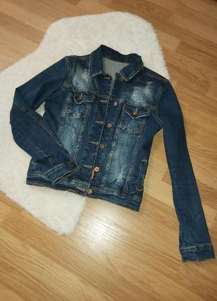 Крутая джинсовка джинсовая куртка