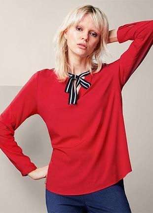 Стильная блуза туника р.48 евро женская блузка tcm tchibo, германия