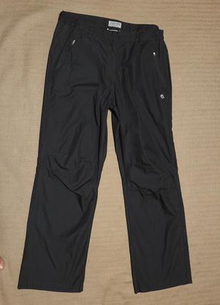 Легкие спортивные брюки цвета маренго craghoppers англия 12 р.