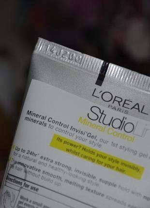 Гель для волос l'oreal paris studio line invisi'hold natural clear gel8 фото