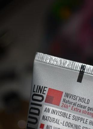 Гель для волос l'oreal paris studio line invisi'hold natural clear gel9 фото