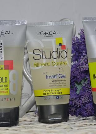 Гель для волос l'oreal paris studio line invisi'hold natural clear gel3 фото