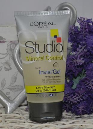 Гель для волос l'oreal paris studio line invisi'hold natural clear gel5 фото