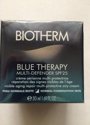 Biotherm blue therapy multi-defender spf 25 - антивозрсаст. крем 2017!
