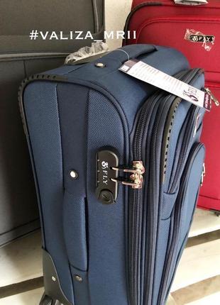 Тканевые чемоданы польша, 4 колёса, якісні тканеві валізи4 фото