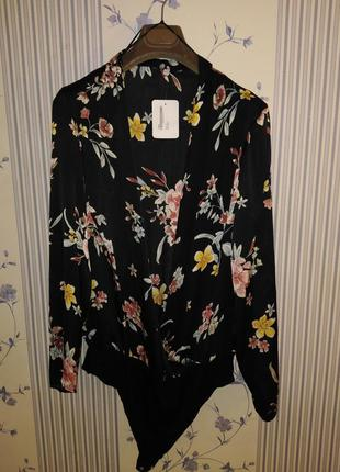 Блуза - боди, р. 16, нарядная