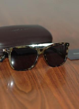 Продам солнцезащитные очки ermenegildo zegna (новые и оригинальные, made in italy)