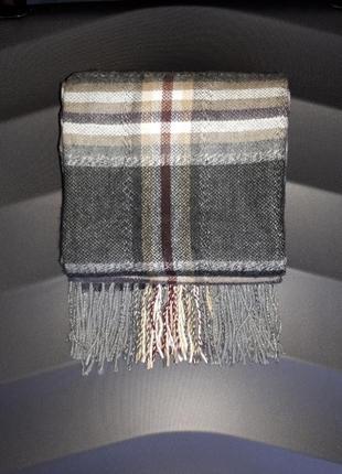 Теплый шарф zara man,италия.