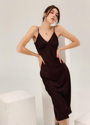 Нарядное платье комбинация